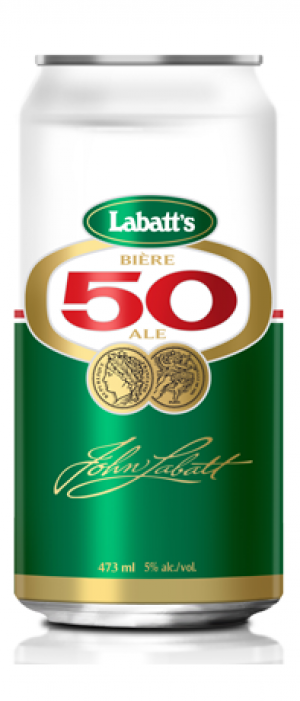Labatt 50 by Labatt Breweries of Canada in Ontario, Canada