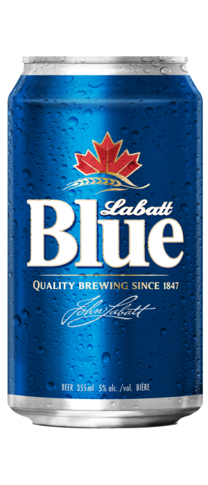 Labatt Blue by Labatt Breweries of Canada in Ontario, Canada