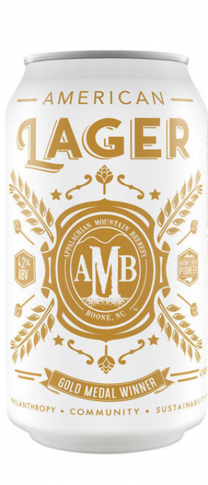 Lager by Appalachian Mountain Brewery in North Carolina, United States