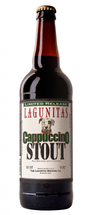 Cappuccino Stout by Lagunitas Brewing Company in California, United States