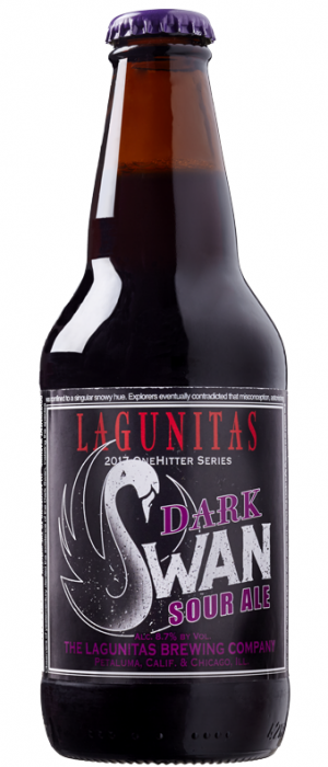 Dark Swan by Lagunitas Brewing Company in California, United States