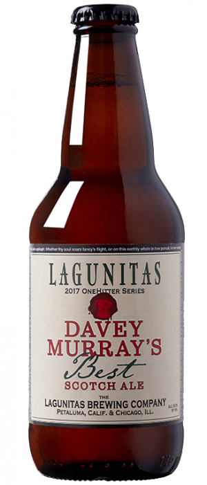 Davey Murray's Best Scotch Ale by Lagunitas Brewing Company in California, United States
