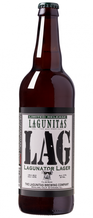 Lagunator by Lagunitas Brewing Company in California, United States