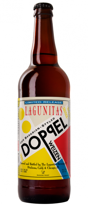 Our Bavarian-Styled Doppel Weizen by Lagunitas Brewing Company in California, United States
