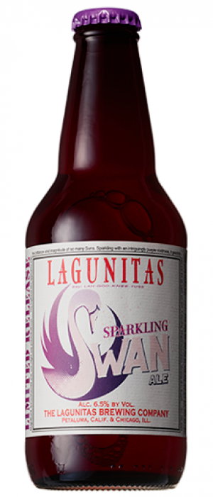 Sparkling Swan by Lagunitas Brewing Company in California, United States