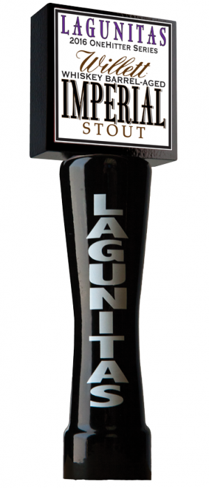 Willett Whiskey Barrel-Aged Imperial Stout by Lagunitas Brewing Company in California, United States