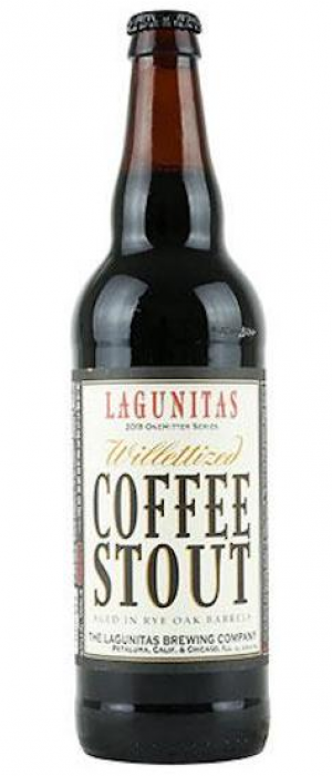 Willettized Coffee Stout by Lagunitas Brewing Company in California, United States
