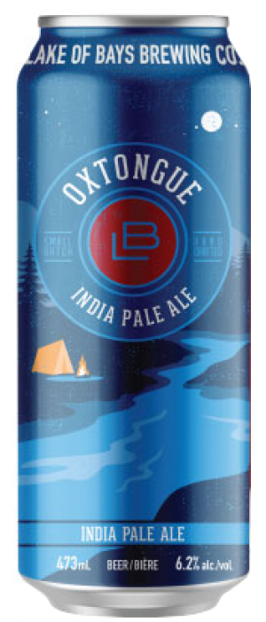 Oxtongue IPA by Lake Of Bays Brewing Company in Ontario, Canada