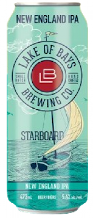 Starboard by Lake Of Bays Brewing Company in Ontario, Canada