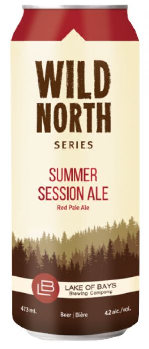 Summer Session Ale by Lake Of Bays Brewing Company in Ontario, Canada