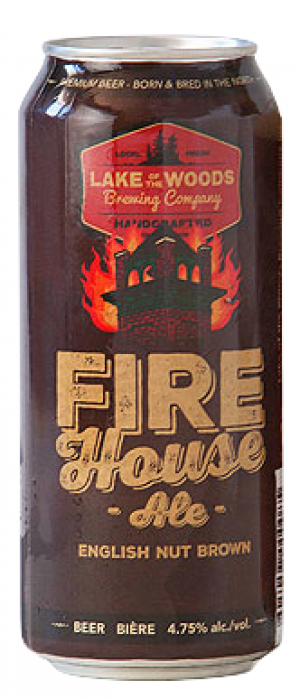 Firehouse by Lake Of The Woods Brewing Company in Ontario, Canada