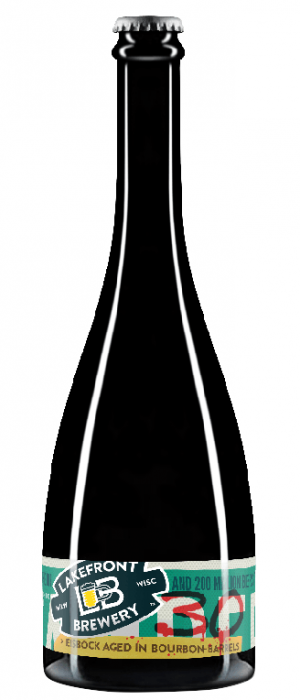 30th Anniversary Bourbon Barrel-Aged Eisbock by Lakefront Brewery in Wisconsin, United States