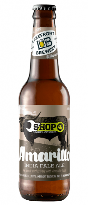 Amarillo Shop by Lakefront Brewery in Wisconsin, United States