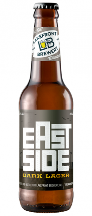 Eastside Dark Bavarian Dark Lager by Lakefront Brewery in Wisconsin, United States