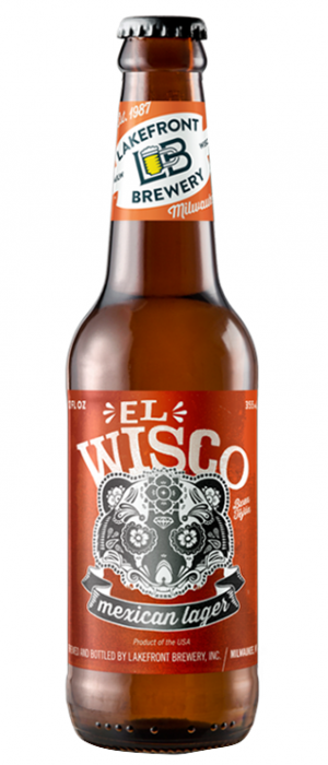 El Wisco Mexican Lager by Lakefront Brewery in Wisconsin, United States