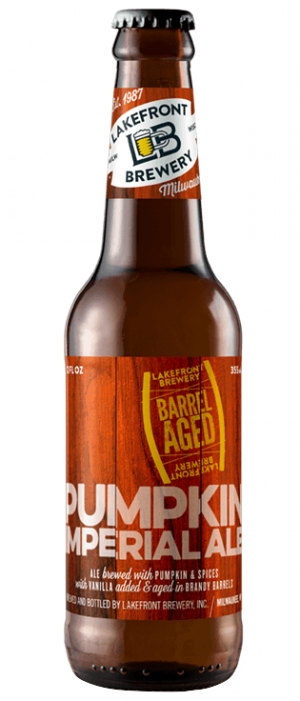 Imperial Pumpkin Ale by Lakefront Brewery in Wisconsin, United States