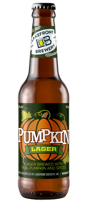 Pumpkin Lager by Lakefront Brewery in Wisconsin, United States