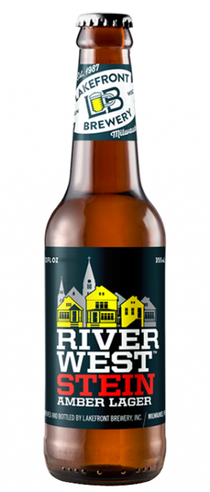 Riverwest Stein Amber Lager by Lakefront Brewery in Wisconsin, United States