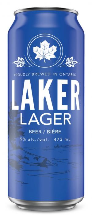 Laker Lager by Waterloo Brewing in Ontario, Canada