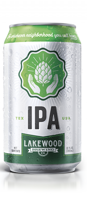 Lakewood IPA by Lakewood Brewing Company in Texas, United States