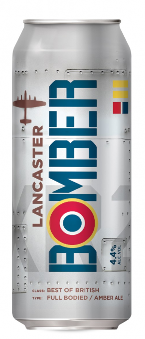 Lancaster Bomber by Marston's Brewery in Staffordshire - England, United Kingdom