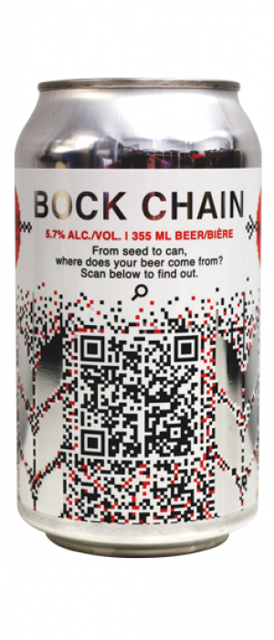 Bock Chain by Last Best Brewing and Distilling in Alberta, Canada