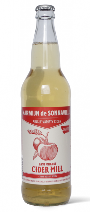 Last Chance Cider Mill Karmijn De Sonnaville Single-Variety Cider by Red Lodge Ales Brewing Company in Montana, United States