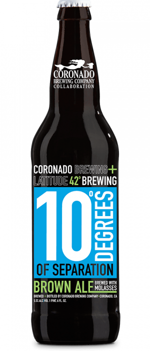 10 Degrees of Separation by Latitude 42 Brewing Company in Michigan, United States