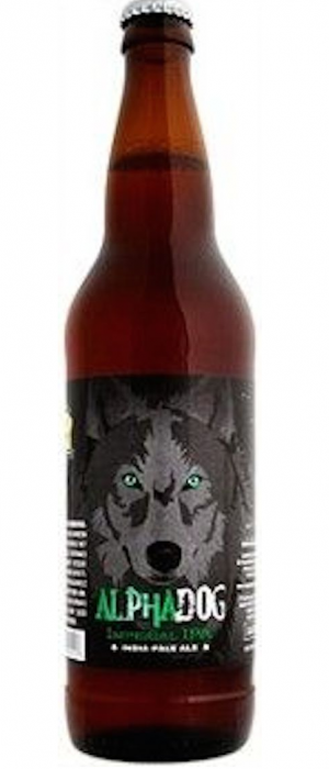 Alpha Dog Imperial IPA by Laughing Dog Brewing in Idaho, United States
