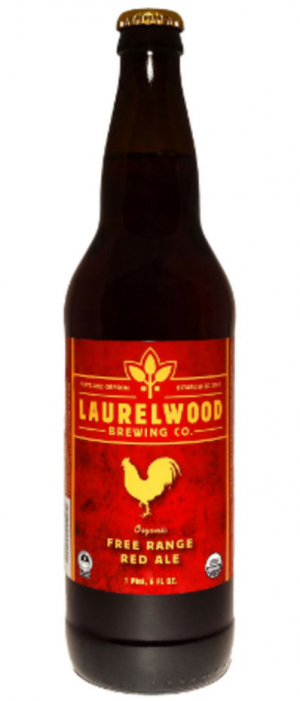 Free Range Red Ale by Laurelwood Public House & Brewery in Oregon, United States