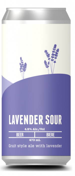 Lavender Sour by Moody Ales in British Columbia, Canada