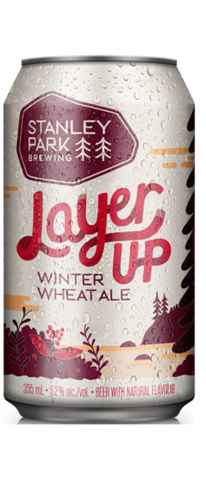 Layer Up Winter Wheat Ale by Stanley Park Brewing in British Columbia, Canada