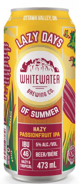 Lazy Days of Summer by Whitewater Brewing Company in Ontario, Canada