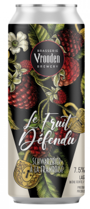 Le Fruit Défendu by Brasserie Vrooden in Québec, Canada