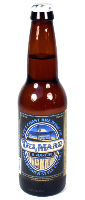 Del Mar St. Lager by Left Coast Brewing Company in California, United States