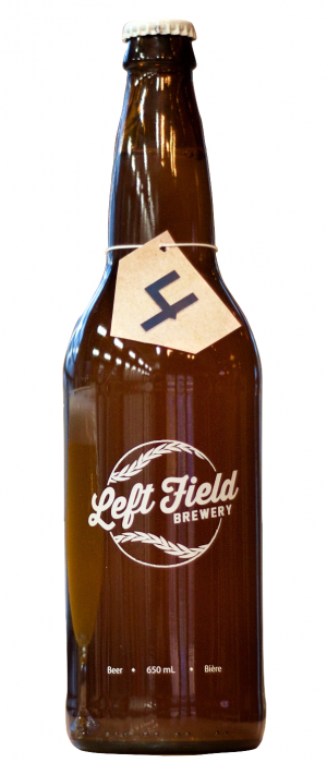Anniversary No. 4 by Left Field Brewery in Ontario, Canada