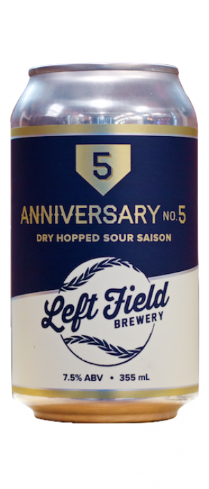 Anniversary No. 5 by Left Field Brewery in Ontario, Canada