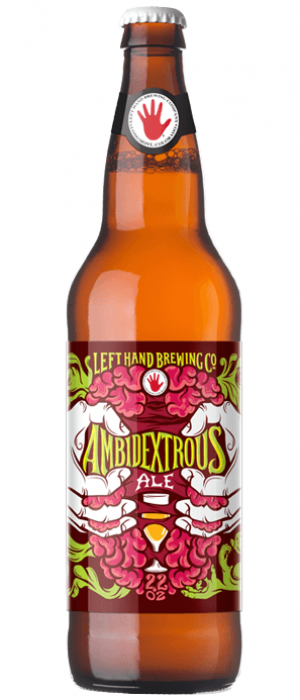 Ambidextrous Ale by Left Hand Brewing Company in Colorado, United States