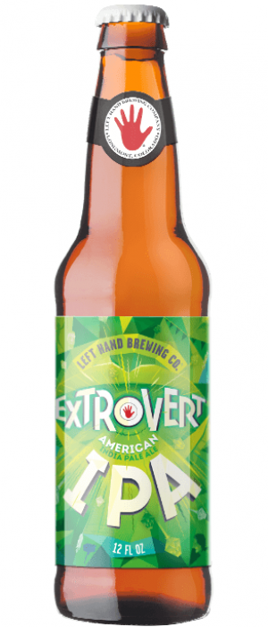 Extrovert IPA by Left Hand Brewing Company in Colorado, United States