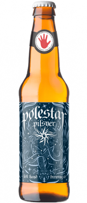 Polestar Pilsner by Left Hand Brewing Company in Colorado, United States