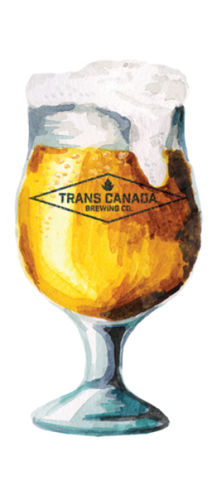 Lemon Hibiscus Saison by Trans Canada Brewing Co. in Manitoba, Canada