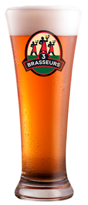 IPA by Les 3 Brasseurs in Québec, Canada