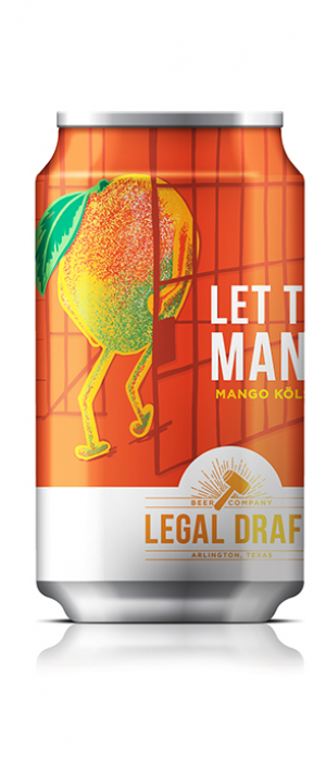 Let That Mango! by Legal Draft Beer Co. in Texas, United States