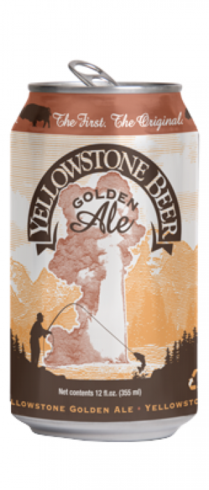 Yellowstone Golden Ale by Lewis & Clark Brewing Company in Montana, United States