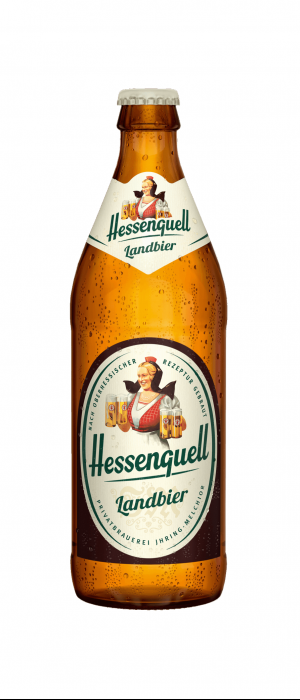 Hessenquell Landbier by Licher in Hesse, Germany