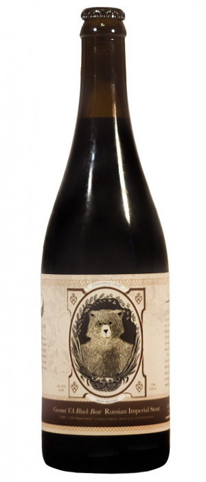 Virginia Black Bear by Lickinghole Creek Craft Brewery in Virginia, United States