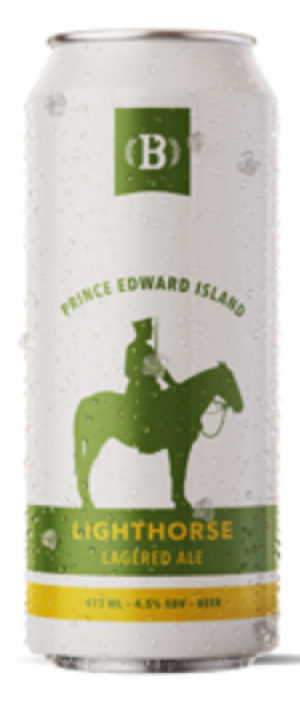 Lighthorse Lagered Ale by Bogside Brewing in Prince Edward Island, Canada