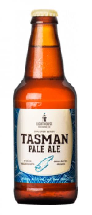 Tasman Pale Ale by Lighthouse Brewing Company in British Columbia, Canada