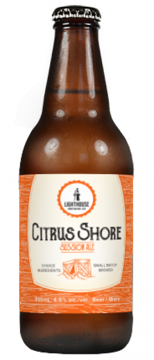 Citrus Shore Session Ale by Lighthouse Brewing Company in British Columbia, Canada