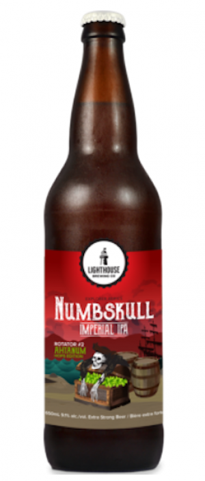 Numbskull Ahtanum Edition by Lighthouse Brewing Company in British Columbia, Canada